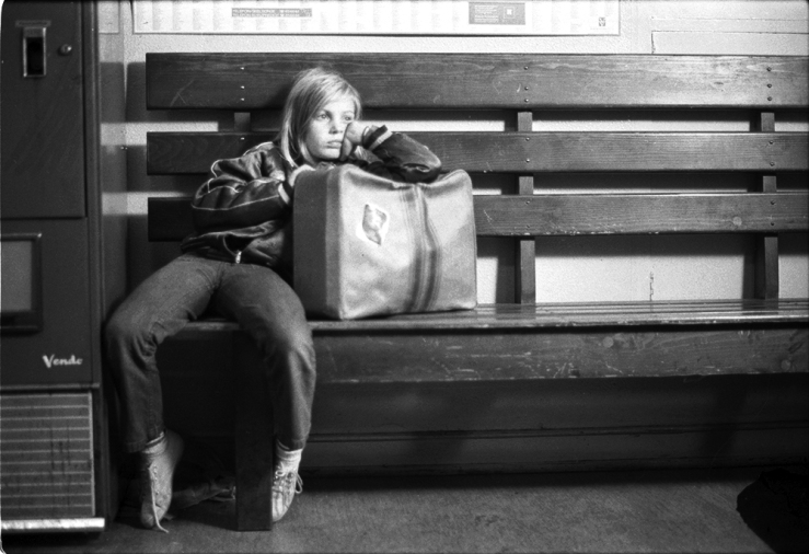 Alice in the Cities bench