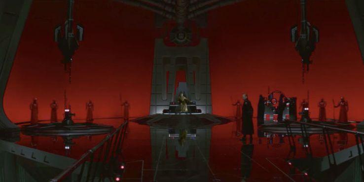 Star Wars Last Jedi snoke