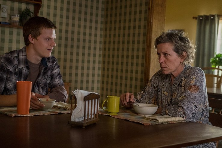 Three Billboards - mildred and son