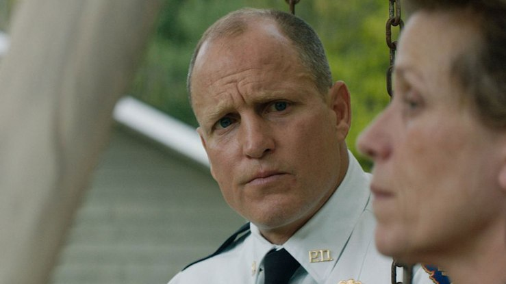 Woody Harrelson is excellent as the understated Chief Willoughby