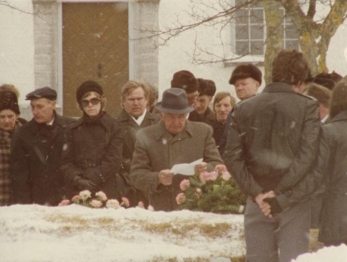 Faro 1979 funeral