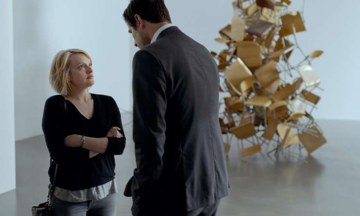 The Square Elisabeth Moss Claes Bang